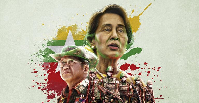 En Myanmar el tiempo se detuvo y la democracia con él