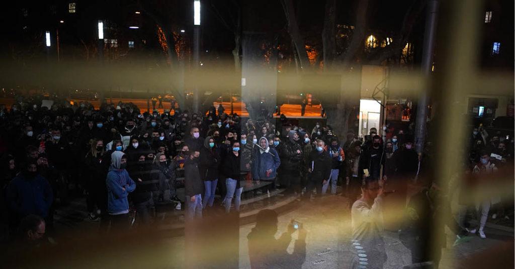 Miles de personas se movilizaron para exigir la liberación del rapero Pablo Hasél