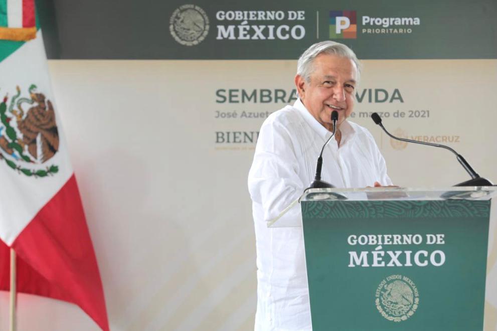 Presume AMLO que México reforesta más que EU… el mismo día del acuerdo con Biden