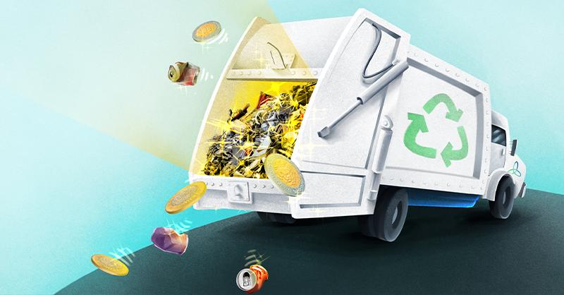 El aprovechamiento de los residuos no solo ayuda a la mitigación de los impactos medioambientales