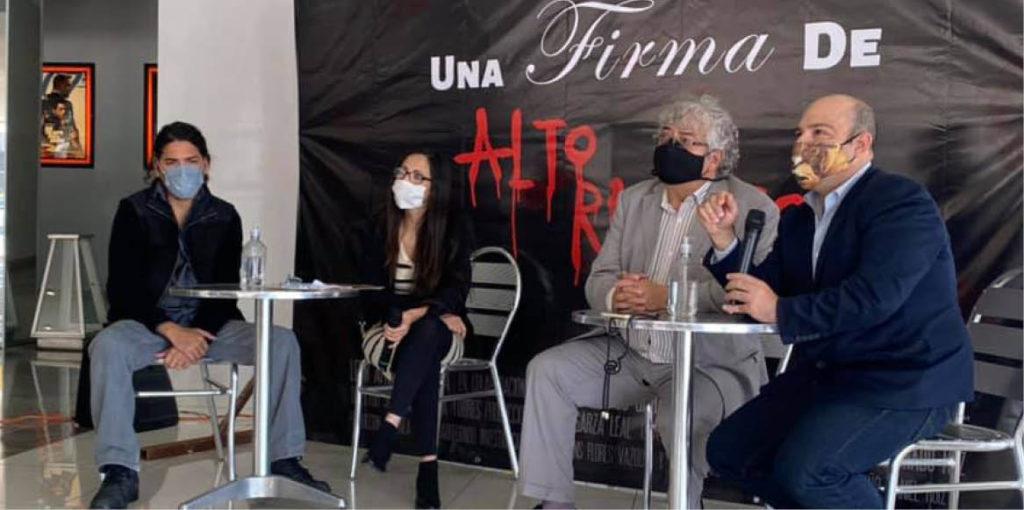 Maldonado, quien buscó convertirse en candidato independiente a gobernador, hizo un documental sobre la recolección de firmas