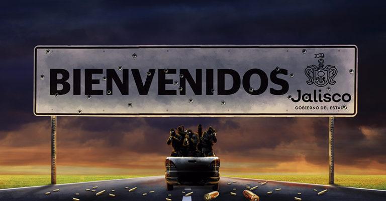 A pesar del poderío que exhibe el CJNG, el gobernador de Jalisco, Enrique Alfaro, se deslinda del combate