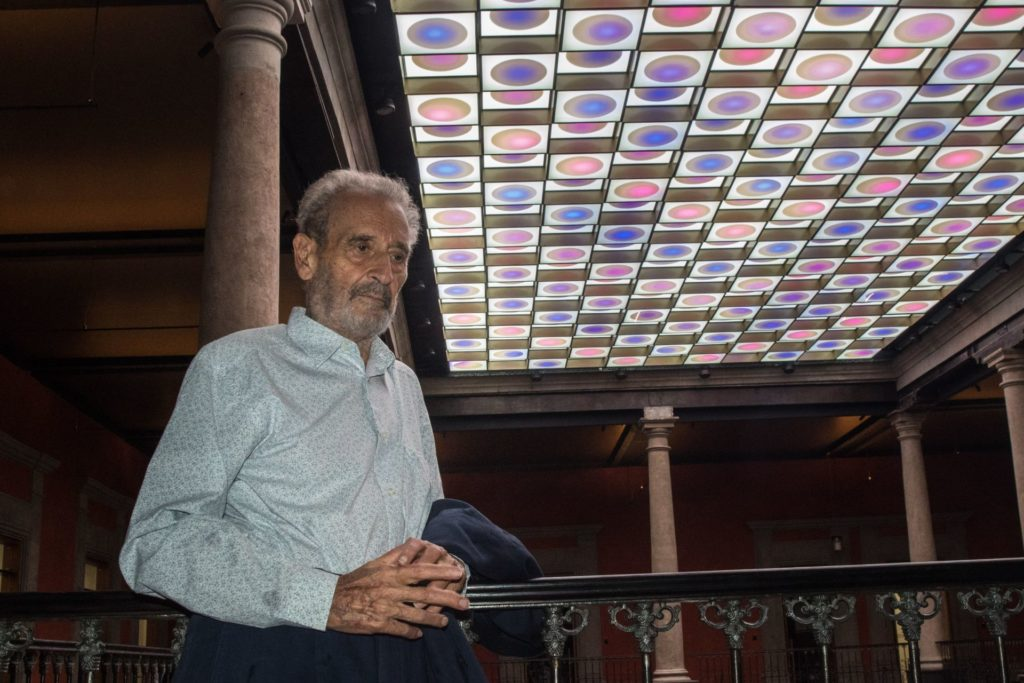Con una gran exposición retrospectiva le rendirán homenaje a Vicente Rojo