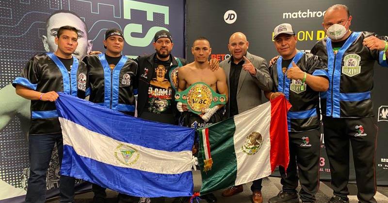 """El boxeador mexicano Juan Francisco """"Gallo"""" Estrada aseguró que jamás quiso ofender a Nicaragua"""