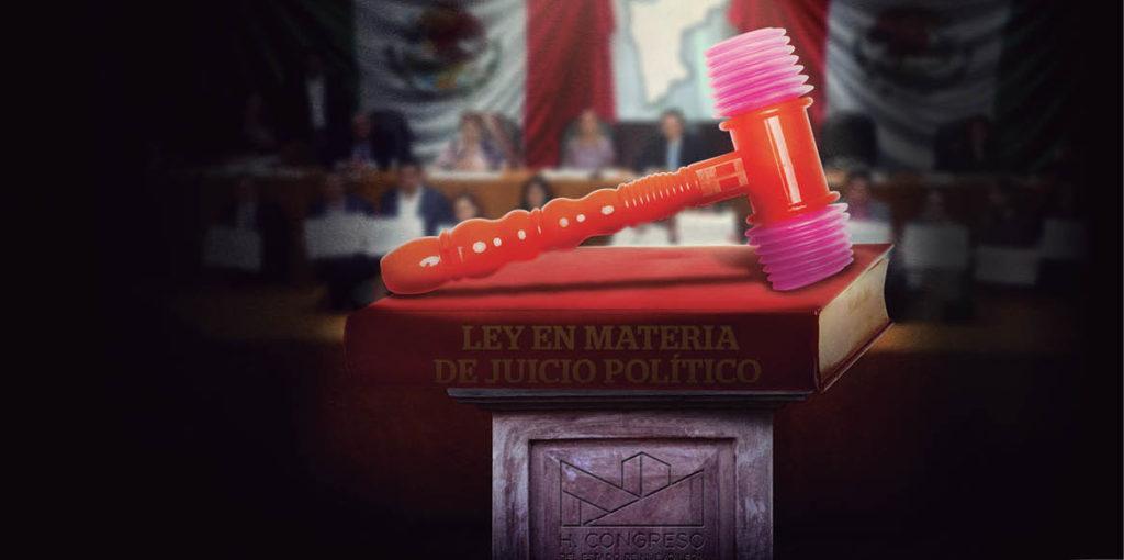 La Ley en Materia de Juicio Político aprobada por los diputados del Congreso local