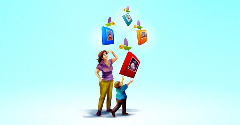 Libro Club Colibrí busca acercar a niñas y niños a la literatura