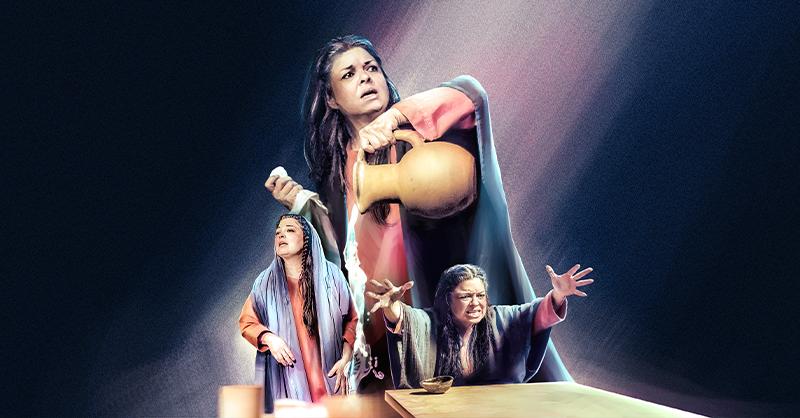 María de Nazaret confesará lo que realmente sucedió con la muerte de su hijo, Jesús