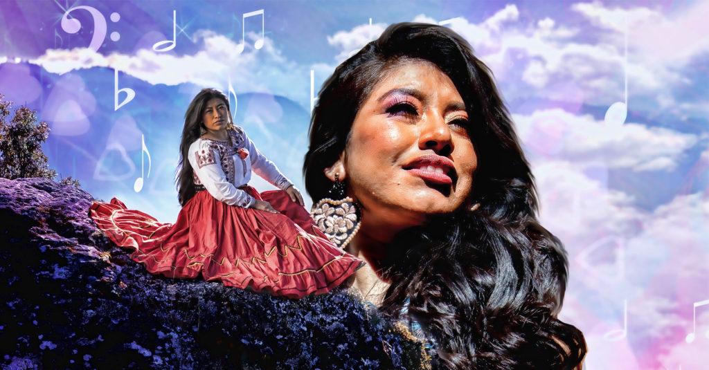 Para la soprano mixe, María Reyna, el ayuuk, su lengua originaria, es melodiosa y suave