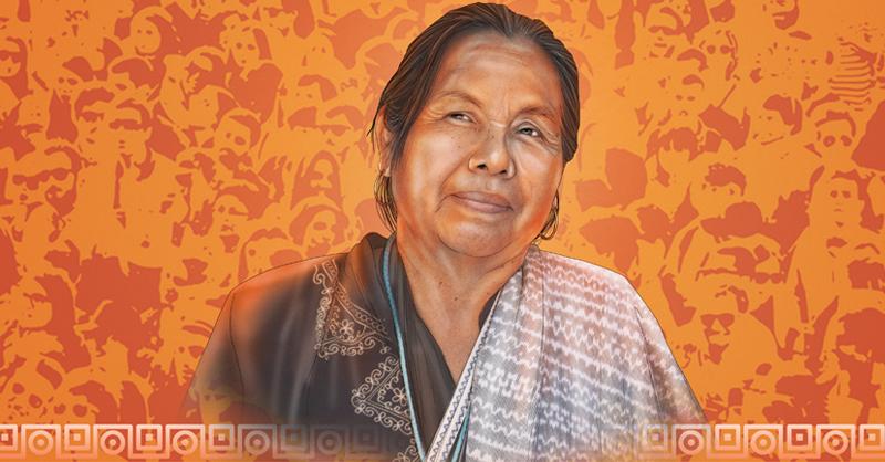 Luciana Kaplan estuvo muy cerca de la primera mujer de origen indígena que intentó contender por la presidencia de México, Marichuy