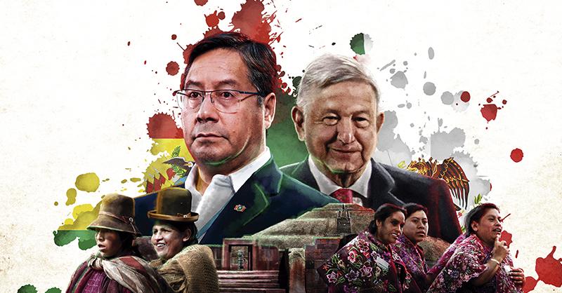 Luis Alberto Arce, jefe de Estado de Bolivia, se alojó en el país los días 24 y 25 de marzo