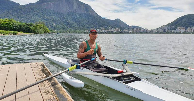 El pararemo de México estará presente en los Juegos Paralímpicos, gracias a Michel Muñoz Malagón