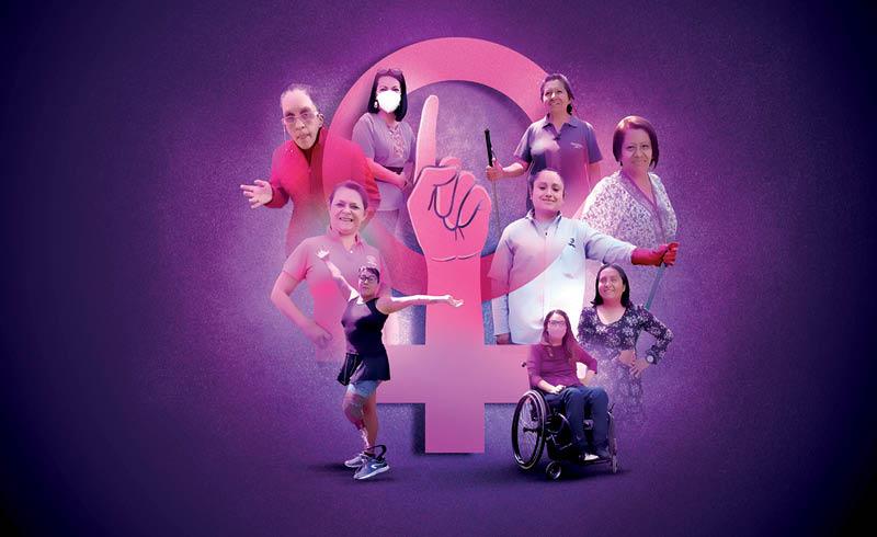 Para las mujeres que sufren de algún tipo de discapacidad, visibilizar la doble o triple segregación que viven