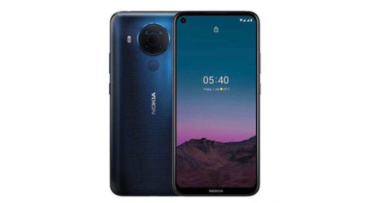 """Nokia 5.4 cuenta con pantalla HD+ de 6.39"""" y procesador Qualcomm Snapdragon 662 con inteligencia artificial."""