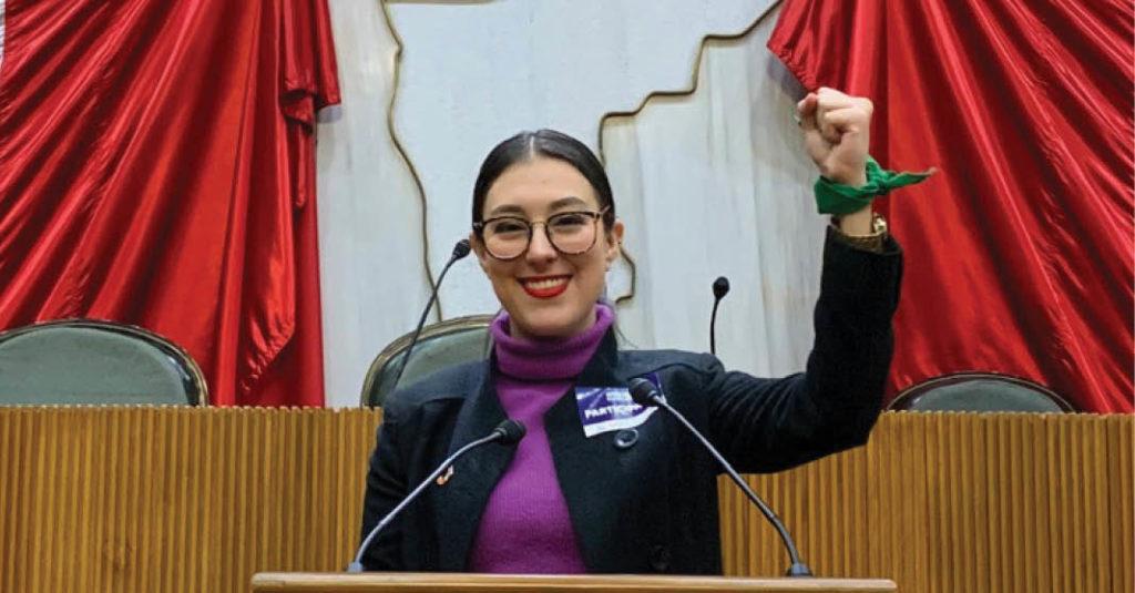 Amyleth Palacios es la candidata más joven en el proceso electoral.