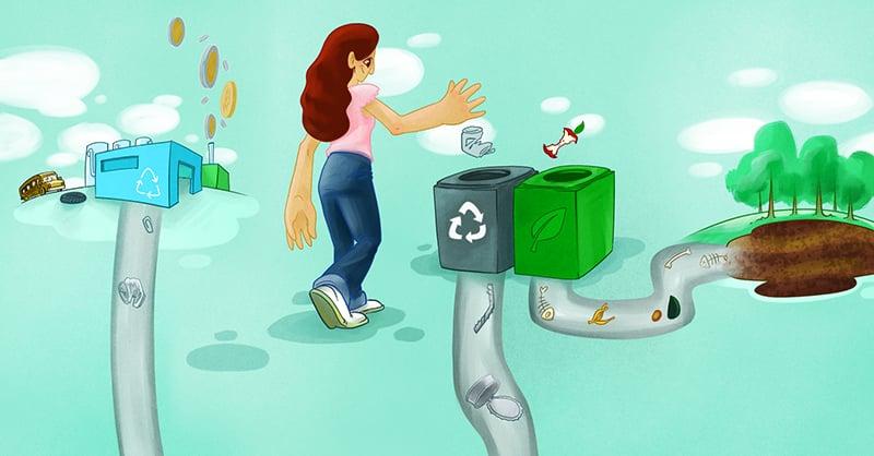 Es importante que la ciudadanía, el gobierno y la iniciativa privada se unan para impulsar un mejor aprovechamiento de los residuos