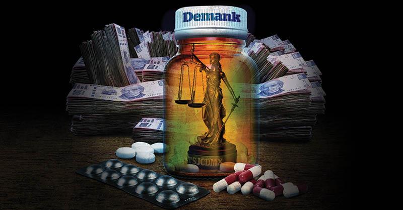 Sobreprecio de medicinas TSJCDMX en pandemia