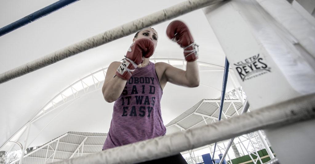 Un buen día, queriendo ganar la atención de su padre, Zulina Muñoz le pidió que la llevara a una pelea en la arena Coliseo