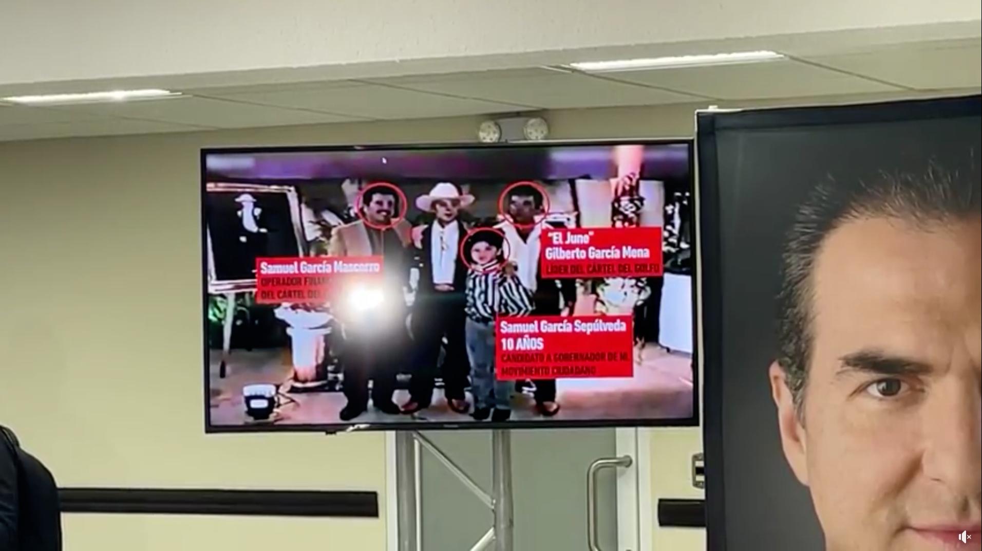 Adrián de la Garza exhibe video que vincula a familia de Samuel García y  Cártel del Golfo