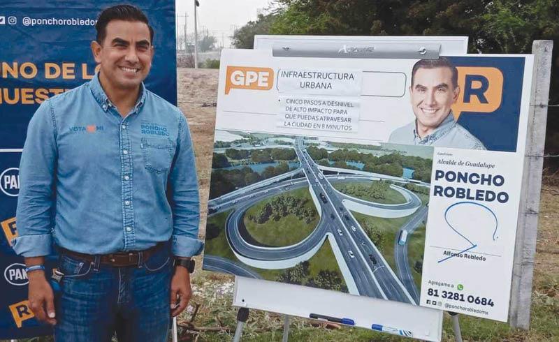 Alfonso Robledo podría perder su candidatura a la alcaldía de Guadalupe.