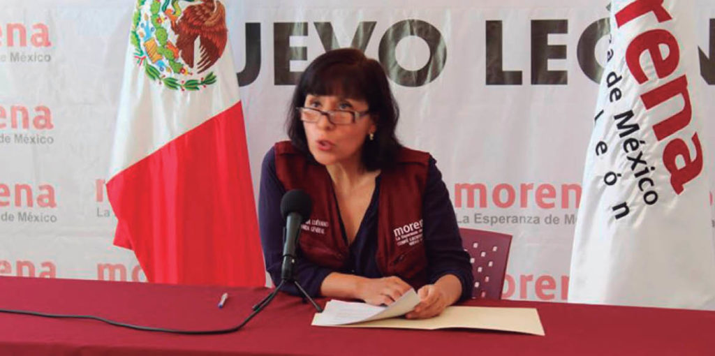 Bertha Puga Luévano finalizó su gestión en Morena.