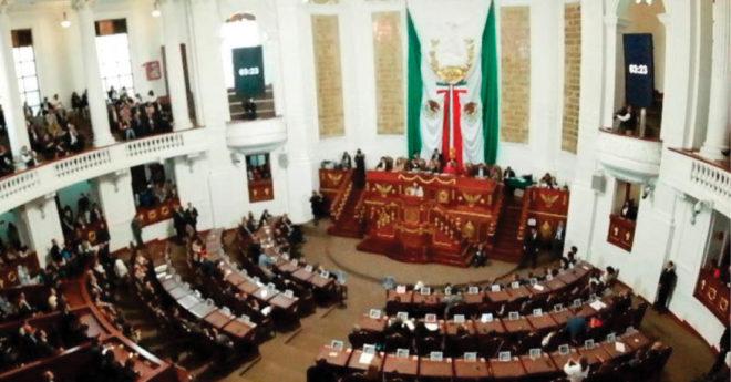 El Congreso de la Ciudad de México aprobó cambios en las fracciones parlamentarias