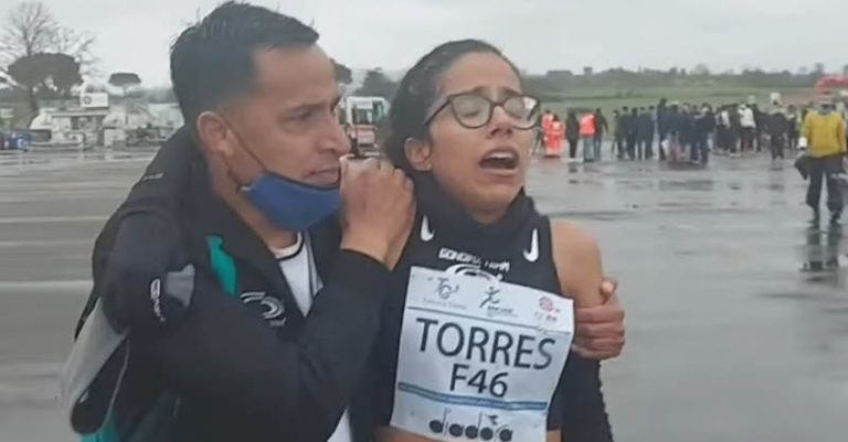 Daniela Torres se sobrepuso a la muerte de su madre y en un complicado Maratón en la Toscana consiguió dar el tiempo