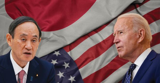 Joe Biden, recibió el pasado viernes la primera visita de un líder internacional, la del primer ministro de Japón, Yoshihide Suga