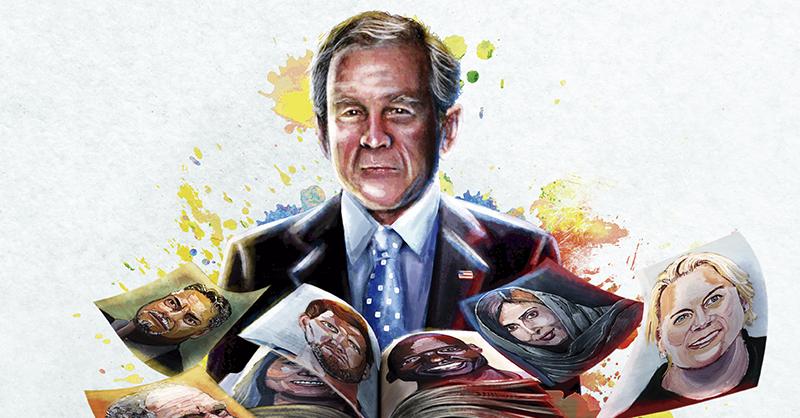 A través de su más reciente libro, el expresidente George W. Bush resaltó el valor que los inmigrantes le han dado a EU
