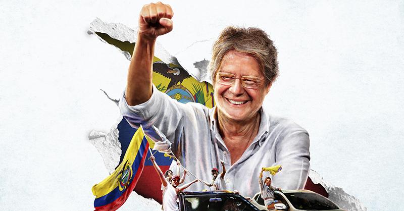 Guillermo Lasso tiene un nuevo reto en Ecuador