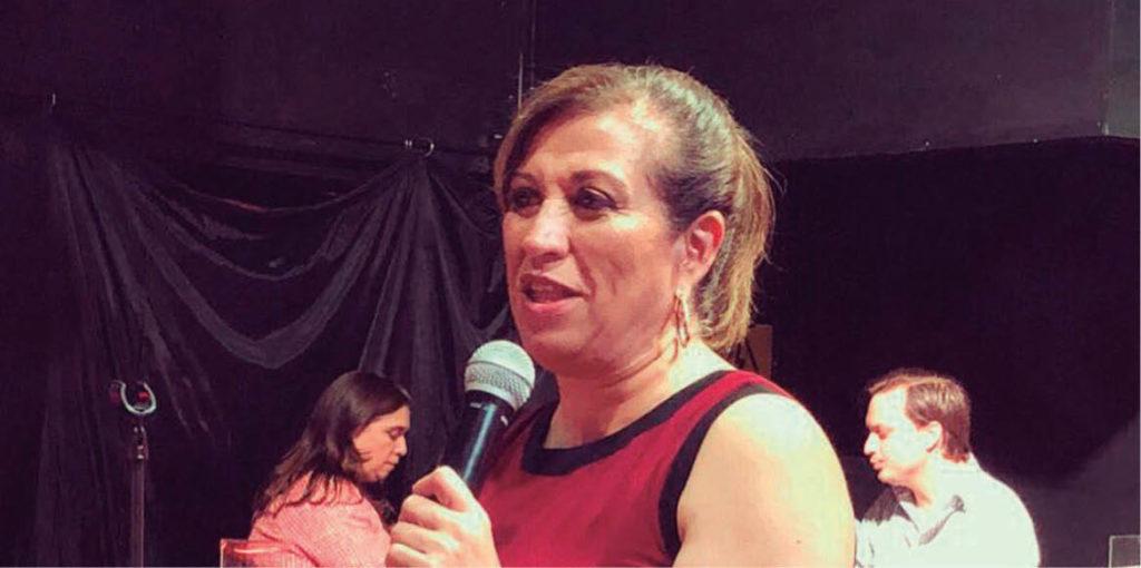 La hija de Judith Díaz será candidata a diputada federal.