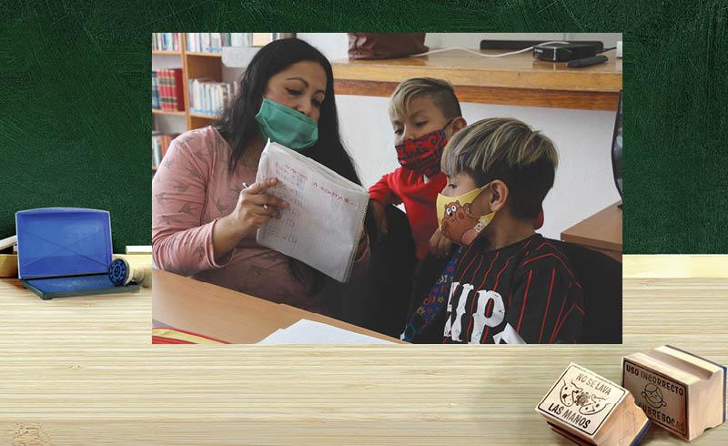 Las escuelas y maestros deberán instrumentar una serie de protocolos para que pueda haber clases presenciales