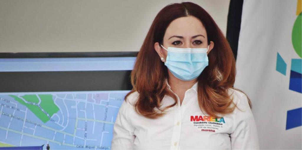 Mariela Saldívar denunció la probable afectación a sus derechos políticos.