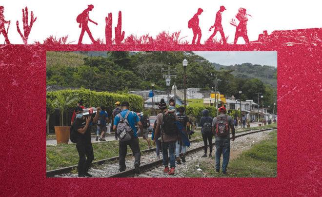 El número de migrantes solicitantes de asilo pasó de 2 mil 137 peticiones, en 2014; a 70 mil 440, en 2019.