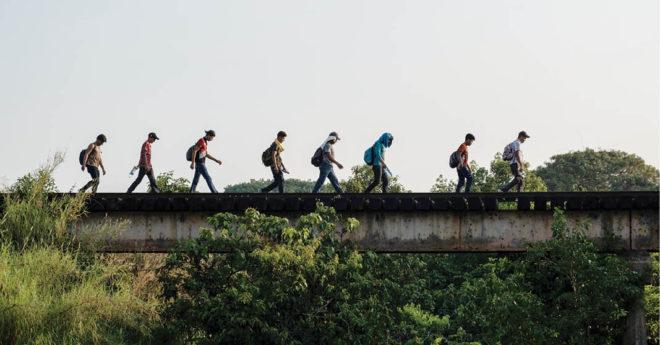 INM ha rechazado, entre 2020 y 2021, a más de mil 890 migrantes relacionados con delitos