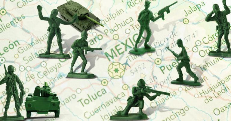 La militarización del país y el otorgamiento de mayores facultades en el ámbito civil para los militares