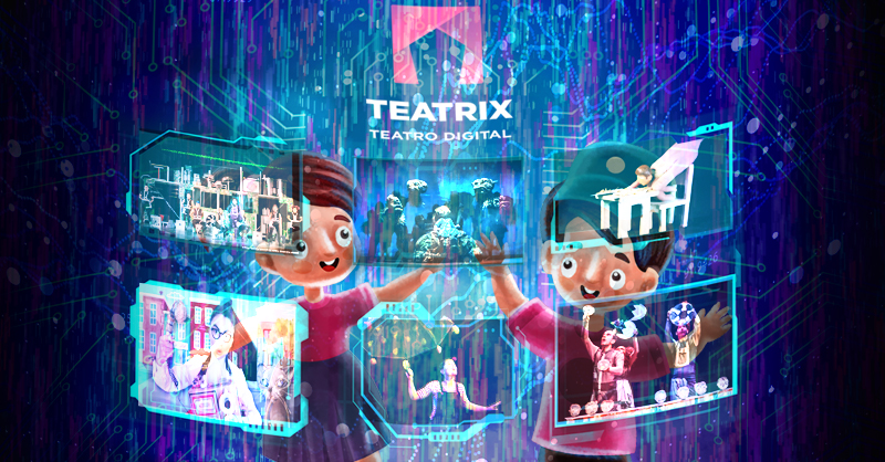 Teatrix presenta un carrusel de contenido infantil para festejar el Día del Niño
