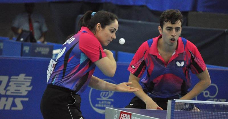 Marcos Madrid, Yadira Silva y Mónica Muñoz buscarán su pase a Tokio 2020 en el tenis de mesa