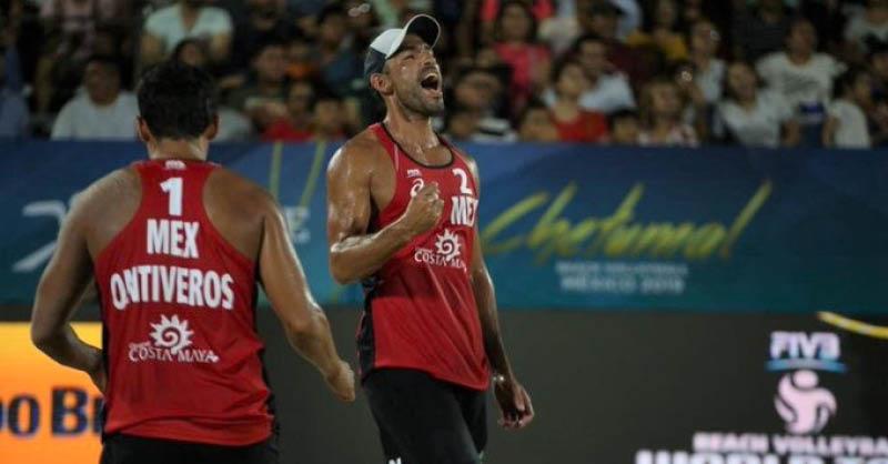 La dupla mexicana de voleibol de playa, integrada por Juan Virgen y Lombardo Ontiveros, se siente preparada