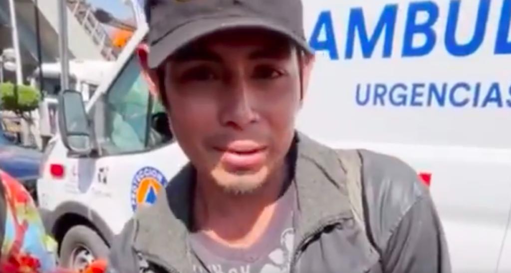 Buscan ayuda para Miguel, joven en situación de calle que sobrevivió a colapso de convoy en Línea 12