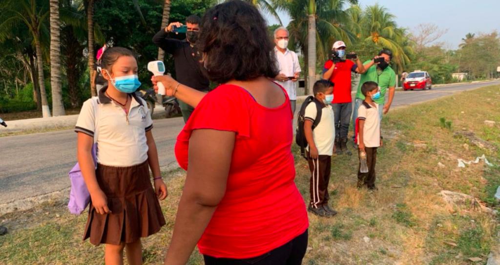 Campeche suspende clases presenciales por incremento en casos de COVID-19