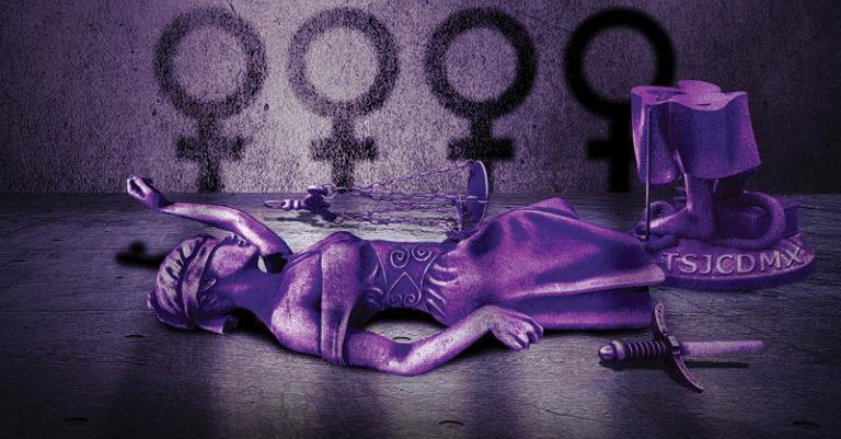 Menos del 20 por ciento de los juicios por feminicidio en la Ciudad de México llegan a una resolución del TSJCDMX