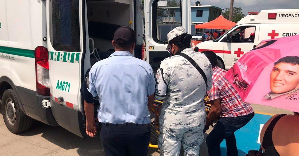 Tamaulipas: embarazada termina en el hospital tras ser vacunada dos veces contra COVID