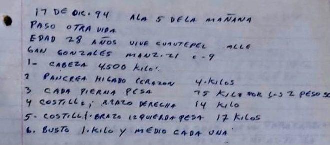 Bitácoras, fotografías y un sótano para descuartizar: así es la casa del feminicida de Atizapán