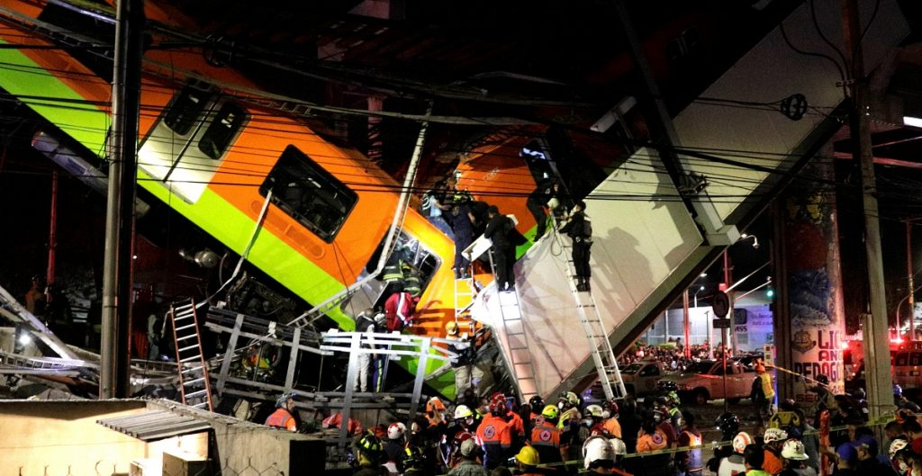 Decreta AMLO tres días de duelo nacional por víctimas del colapso de la L12  del Metro