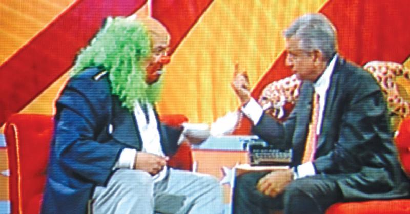Ayer 12 de mayo se cumplieron 15 años de un encuentro campal televisivo, Andrés Manuel López Obrador (AMLO) y el payaso comunicador Brozo