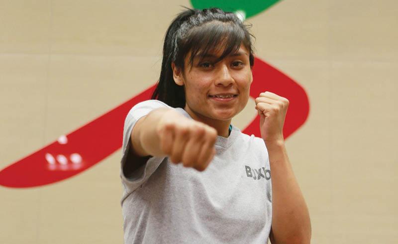 Esmeralda Falcón pasará a la historia como la primera boxeadora mexicana en participar en Juegos Olímpicos