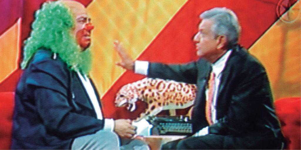 El circo de Brozo transmitió hace 15 años, en horario estelar, una entrevista en vivo con el entonces aspirante presidencial, Andrés Manuel López Obrador