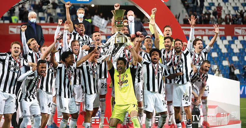 Gianluigi Buffon alzó el último trofeo de su brillante trayectoria con la Juventus