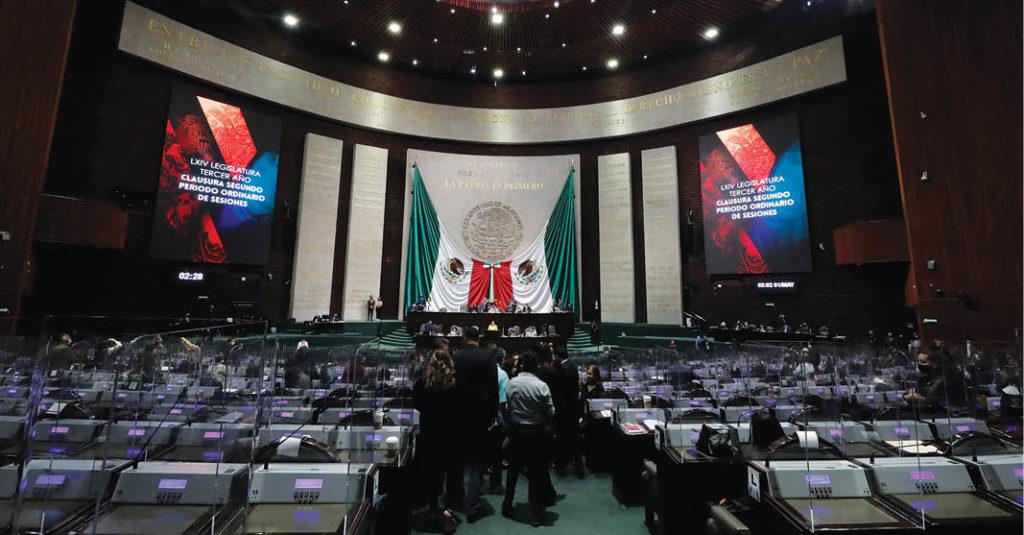 La Cámara de Diputados dejó pendientes nueve de cada diez iniciativas