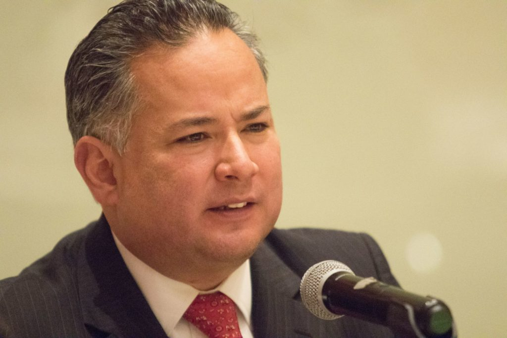 Santiago Nieto, titular de la UIF